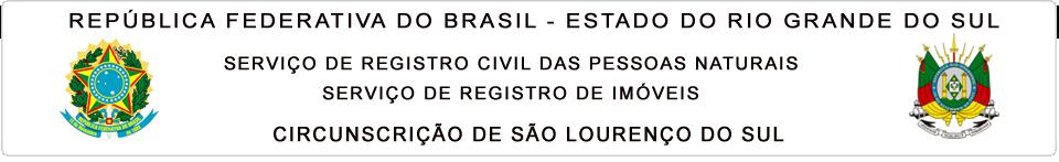 Registro Civil das Pessoas Naturais e de Imóveis de São Lourenço do Sul